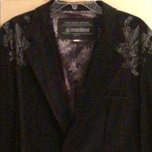 MK Machine Men's velvet feel sports coat.